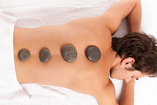 hot stone massage for men