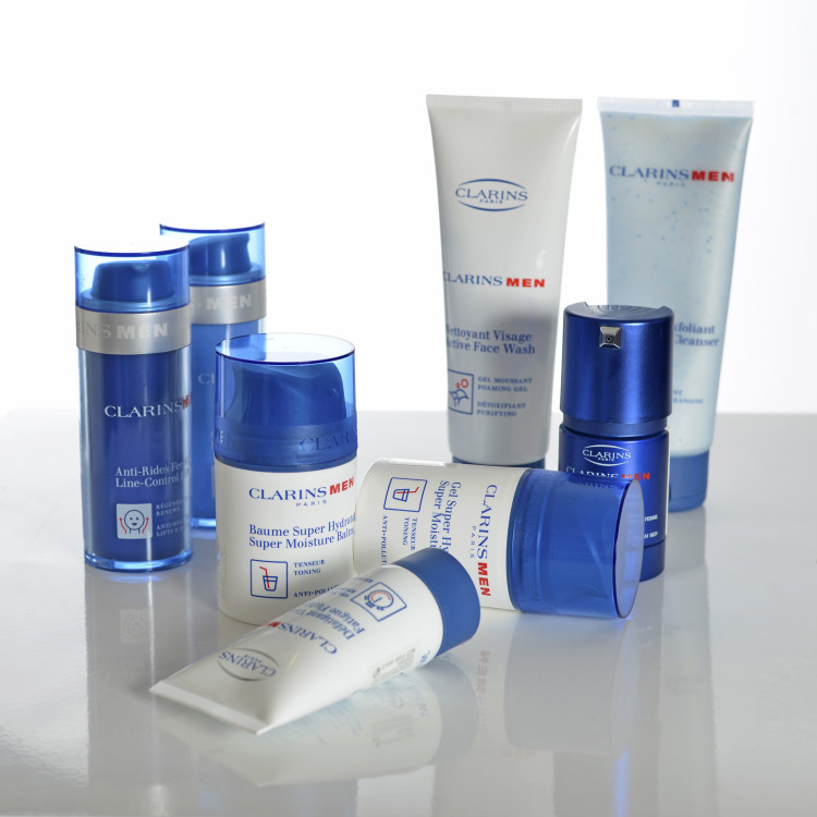 Clarins for Men, with Indulgence Beauty Therapists, Marlborough